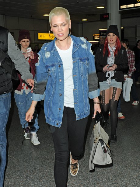 Jessie J returns from her holiday in Marrakesh