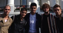 The Wanted visit The White House