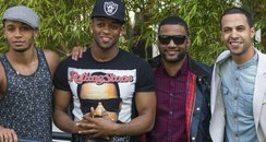 JLS pictured for the first time since split announ