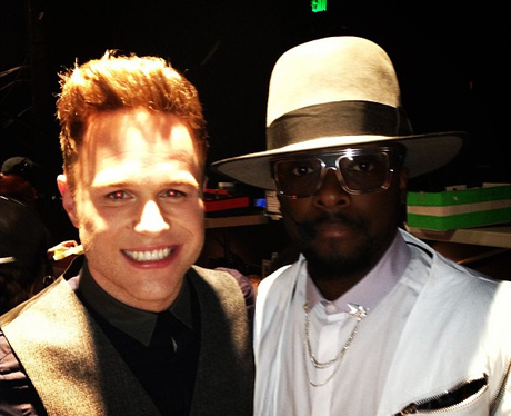 Olly Murs and Will.i.am together