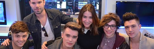 Dave and Lisa with Union J