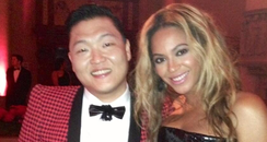 Beyonce and PSY