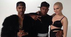 Jessie J, Big Sean and Dizzee Rascal