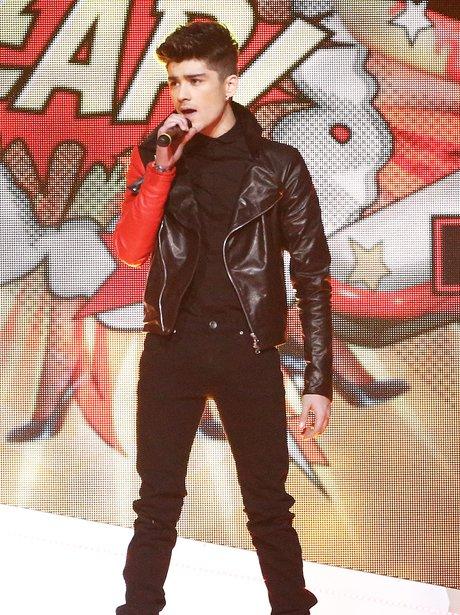 Zayn Malik on stage