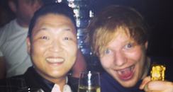 psy and ed sheeran