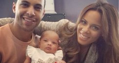 Marvin Humes and family from Instagram