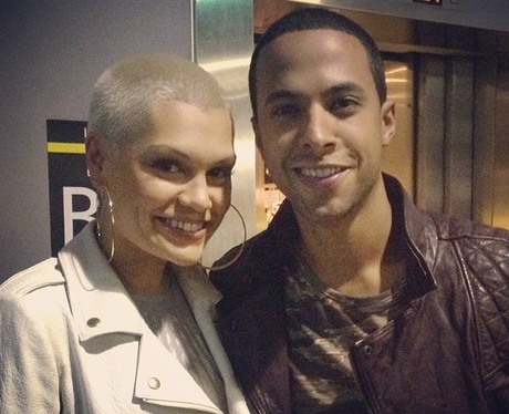 Marvin Humes and Jessie J