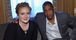 adele and jay-z