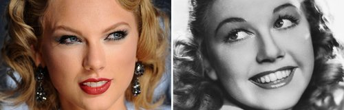 Pop Stars Out Of Time: Taylor Swift and Doris Day