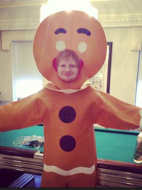 Ed Sheeran Gingerbread Man