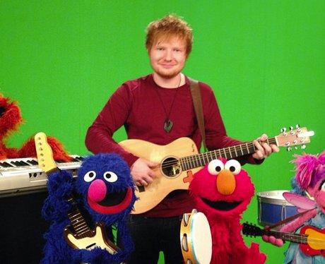 Ed Sheeran on Sesame Street