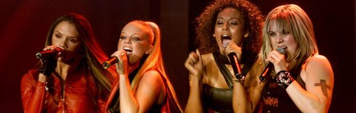 The Spice Girls MTV EMA's