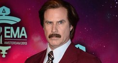 Will Ferrell as Anchorman's Ron Burgundy  on the M
