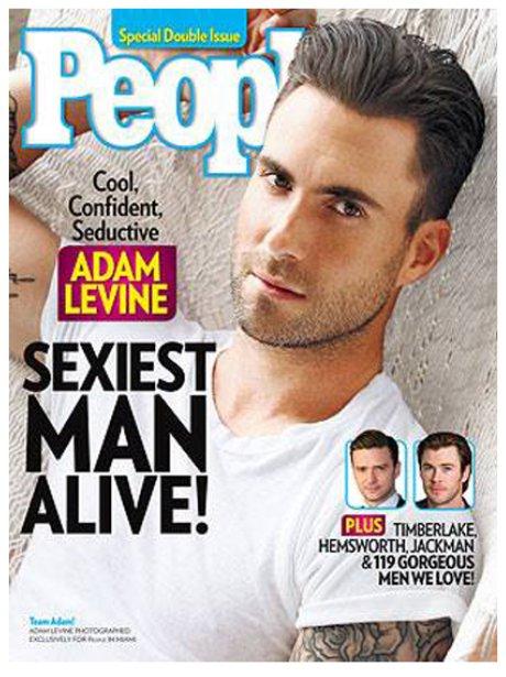 Adam Levine People Magazine 2013