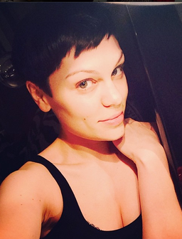 Jessie J Black Hair Instagram