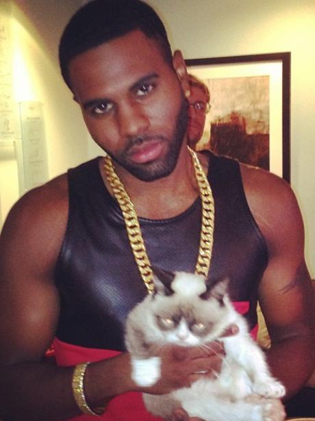 Jason Derulo and Cat