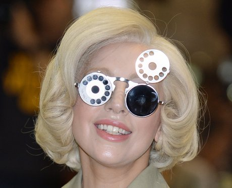 Lady gaga s specs appeal the artpop star s craziest
