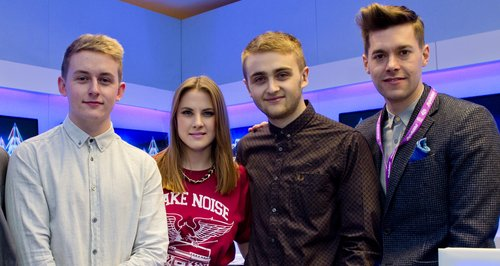 Disclosure Jingle Bell Ball 2013: On Air Studio