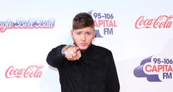 James Arthur Red Carpet at the Jingle Bell Ball 20
