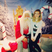 Image 10: Perrie Edwards sits on Santa's knee