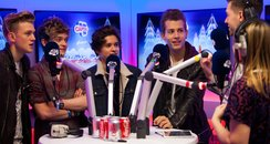 The Vamps with Rich and Kat Jingle Bell Ball 2013