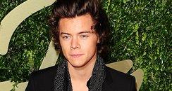 Harry Styles British Fashion Awards 2013