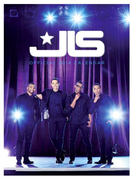 JLS's 2014 calendar cover