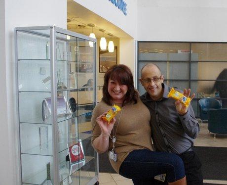 BelVita Giveaway at Barclays