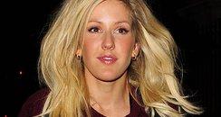Ellie Goulding wearing a big jumper