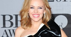 Kylie Minogue at the Brit Awards 2014