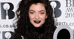 Lorde BRIT Awards 2014 Backstage