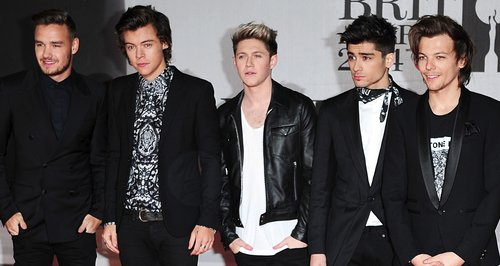 One Direction at the Brit Awards 2014