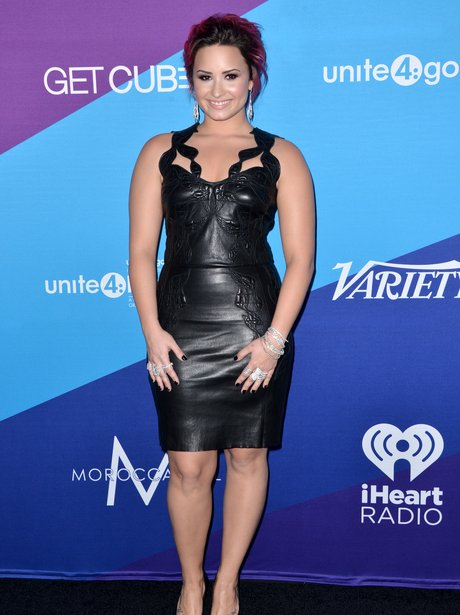 Demi Lovato at Charity event