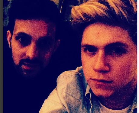 Niall Horan and Dynamo