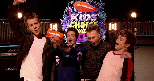 The Vamps Kids Choice Awards 2014