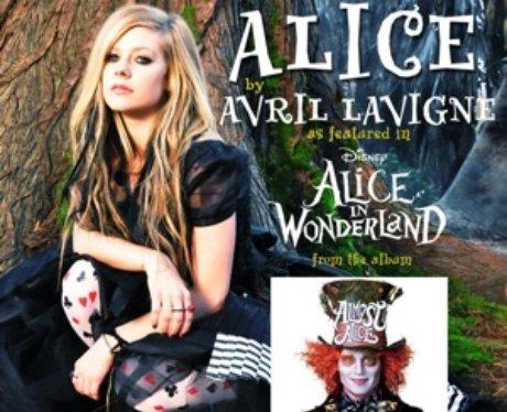 Avril Lavigne Alice Single Artwork