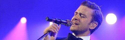 Justin Timberlake singing