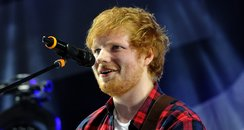 Ed Sheeran performs live in LA