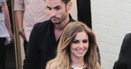 Cheryl Cole with her rumoured new boyfriend