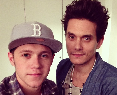 John Mayer and Niall Horan