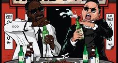 PSY Feat. Snoop Dogg Hangover Artwork