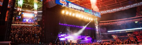 David Guetta live at the Summertime Ball 2014