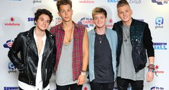 The Vamps Summertime Ball Arrivals 2014