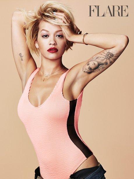 Rita Ora Flare Magzine 2014