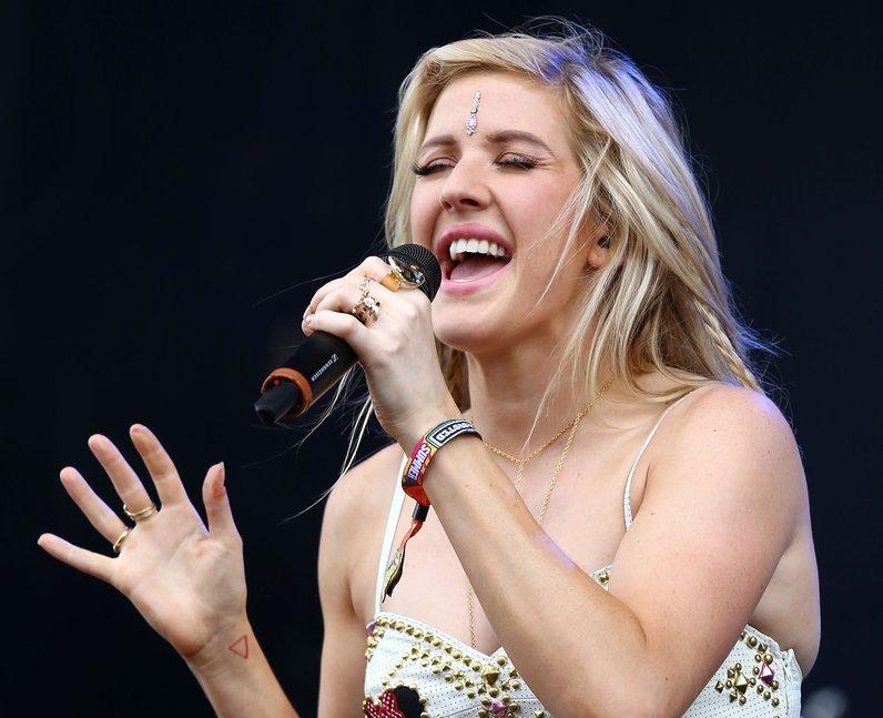 Ellie Goulding Wireless Festival 2014