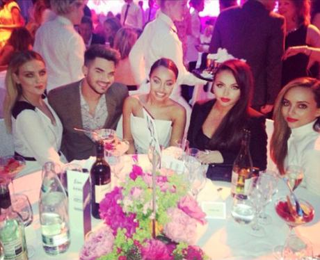 Little Mix Adam Lambert Instagram