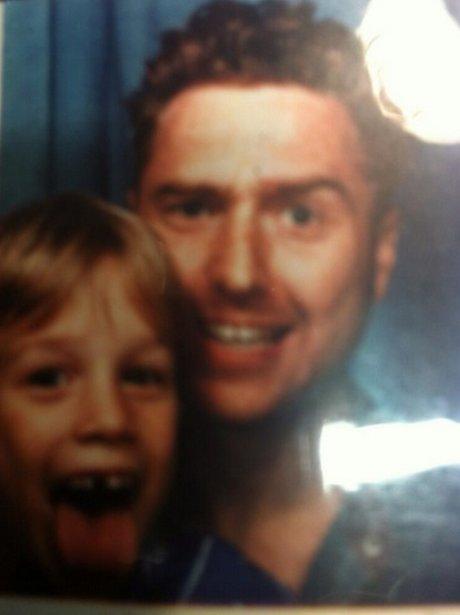 Olly Murs Dad #TBT Instagram
