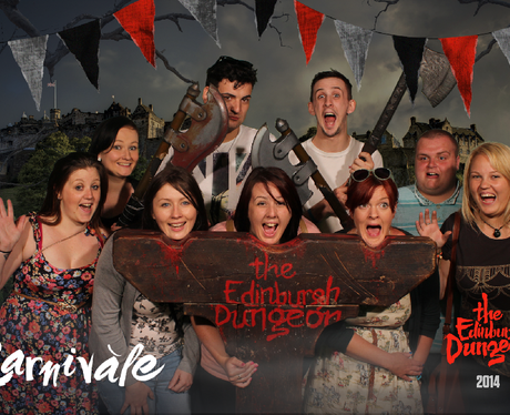 Jennie's tour of the Edinburgh Dungeon!
