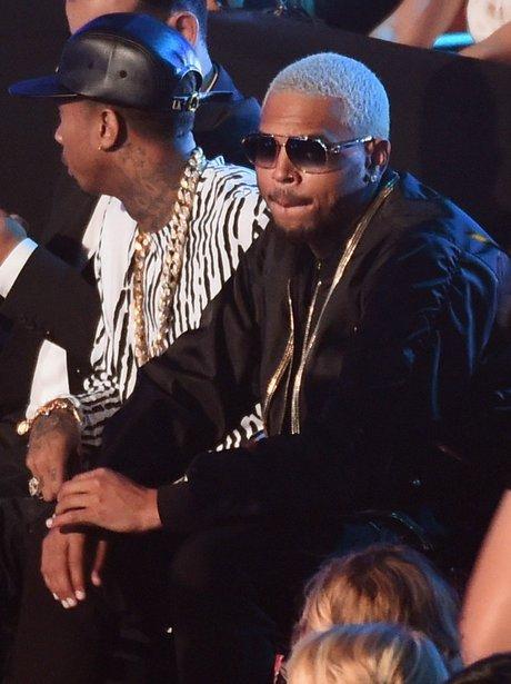 Chris Brown And Tyga MTV VMA 2014