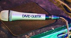 David Guetta iTunes Festival 2014 Mic